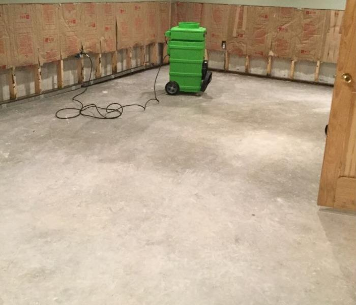 Water Damaged Floor in Sunderland, Vermont After