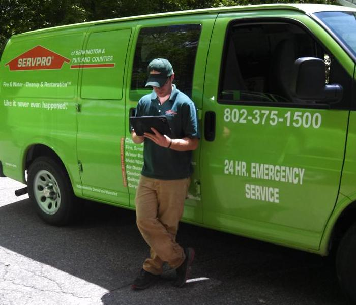 Dry Book Mobile Certified Technicians, SERVPRO of Bennington & Rutland Counties