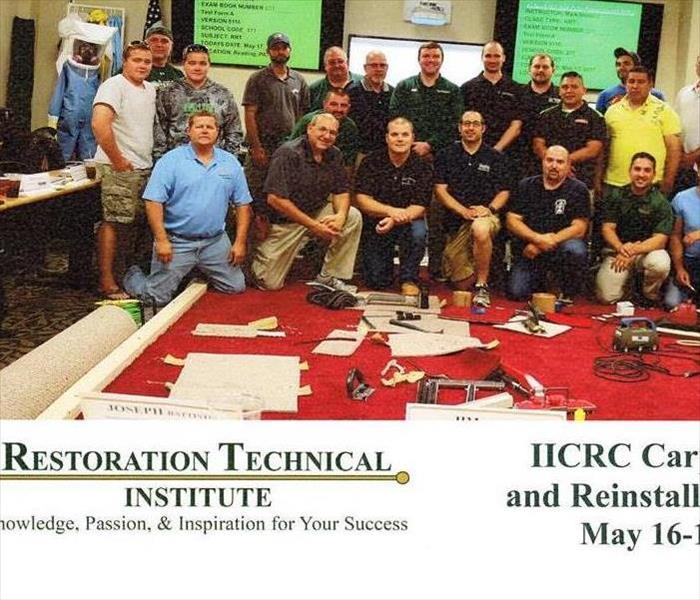 Now Certified IICRC Carpet Repair and Reinstallation