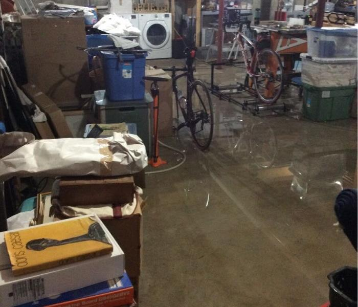 Flooded Basement in Proctor, Vermont