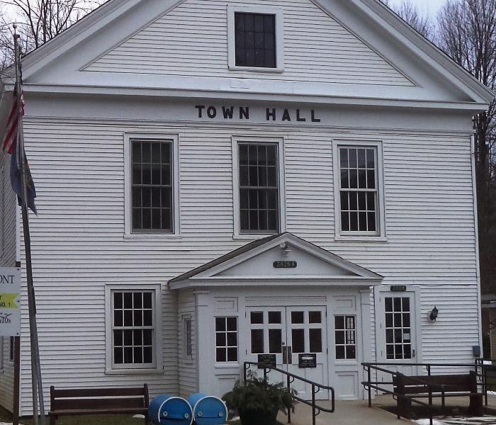 Janitorial services for the Arlington, Vermont Town Hall