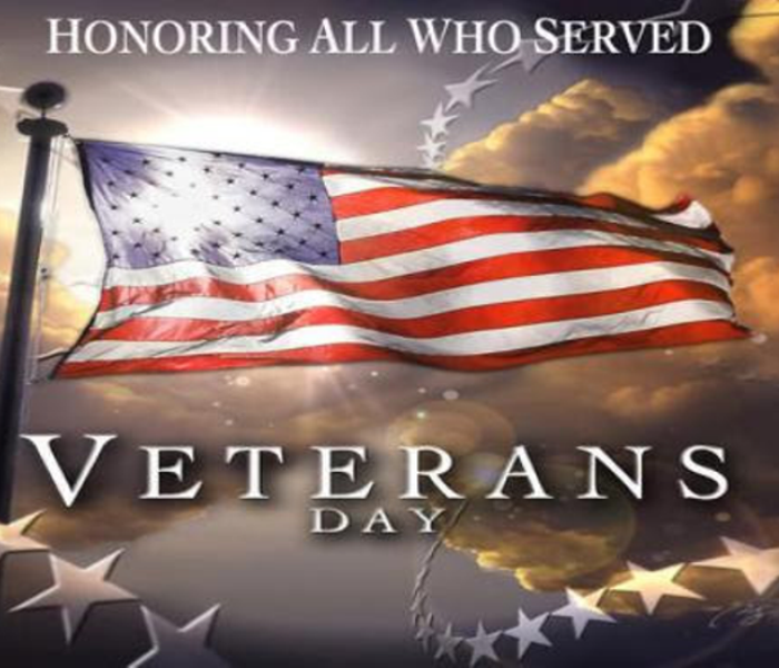 General SERVPRO of Bennington & Rutland Counties Salutes our Veterans